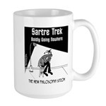 Sartre Trek Large Mug