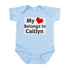 My Heart: Caitlyn Infant Creeper