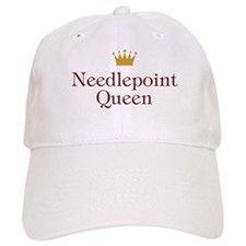 Needlepoint Queen Baseball Cap