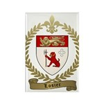LOSIER Family Crest Rectangle Magnet (100 pack)