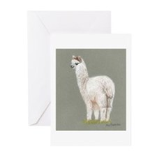 Samsuri Alpaca Giftware Greeting Cards (Pk of 10)