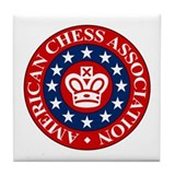 American Chess Association Tile Coaster