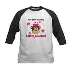 Little Monkey Is Little Cousi Kids Baseball Jersey