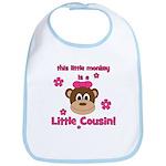 Little Monkey Is Little Cousi Bib