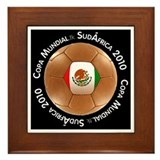 Cool Futbol equipo Framed Tile