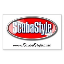 ScubaStyle Rectangle Decal