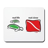 Cute Madison scuba Mousepad