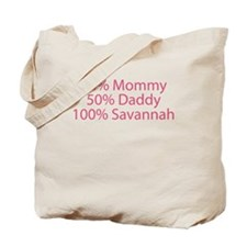100% Savannah Tote Bag