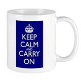 Keep calm mug Small Mugs (11 oz)