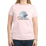 Stork Baby Greece USA T-Shirt