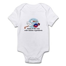 Stork Baby Haiti USA Infant Bodysuit