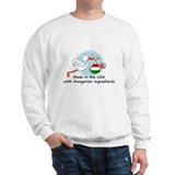 Stork Baby Hungary USA Sweatshirt