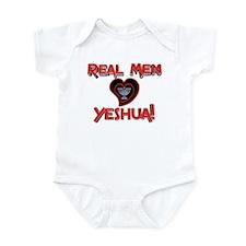 Real Men 2! Infant Creeper