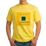 Elect Murray Hill Inc. Yellow T-Shirt