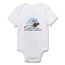Stork Baby Kenya USA Infant Bodysuit