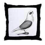 Turbiteen Pigeon Throw Pillow
