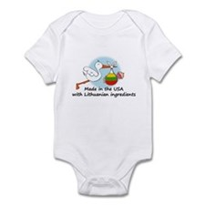 Stork Baby Lithuania USA Infant Bodysuit