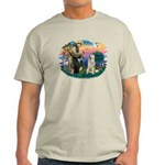St. Fran #2/ Great Pyrenees #1 Light T-Shirt