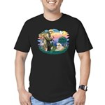 St. Fran #2/ Great Pyrenees (#2) Men's Fitted T-Sh