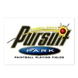 Funny Paintball Postcards (Package of 8)