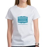 Women's Readers Change History T-Shirt (White)