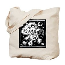 Space Teddy Tote Bag