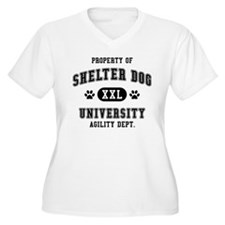 Property of Shelter Dog Univ. T-Shirt