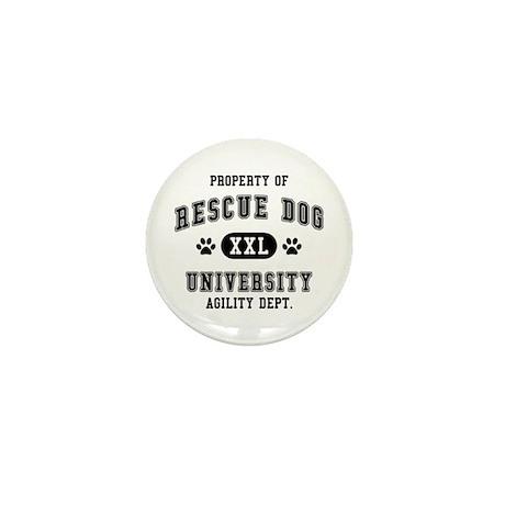 Property of Rescue Dog Univ. Mini Button (10 pack)