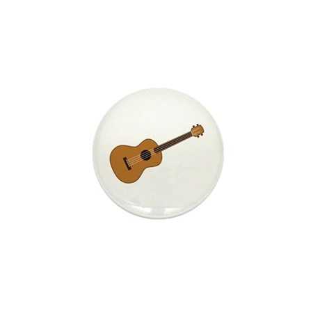Ukulele Mini Button (10 pack)