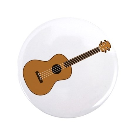 "Ukulele 3.5"" Button"