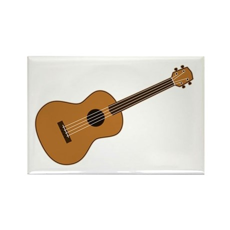 Ukulele Rectangle Magnet