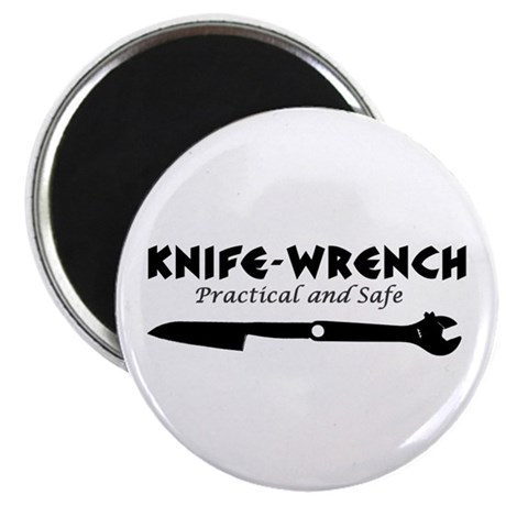 "'Knife-Wrench' 2.25"" Magnet (10 pack)"