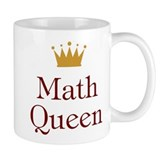 Math Queen Small Mug