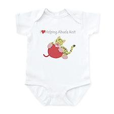 Love Helping Abuela Knit Infant Bodysuit