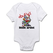 Abuela's Little Artist Infant Bodysuit
