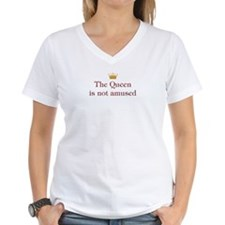 Queen Not Amused Shirt
