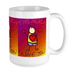 I Love You This Much (v7) Large Mug