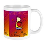I Love You This Much (v7) Mug