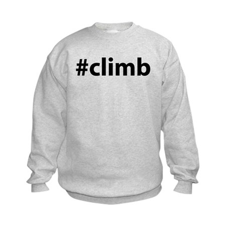 #climb Kids Sweatshirt