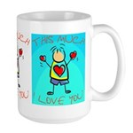 I Love You This Much (v6) Large Mug