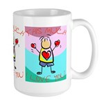 I Love You This Much (v5) Large Mug