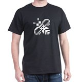 Atari ST bee busy icon Black T-Shirt