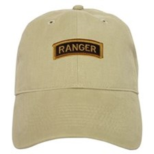 Ranger Tab Black & Gold Baseball Cap
