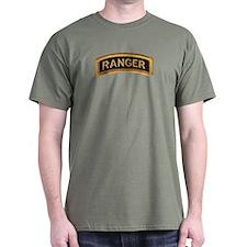 Ranger Tab Black & Gold T-Shirt