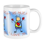 I Love You This Much (v4) Mug