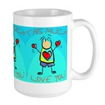 I Love You This Much (v3) Large Mug
