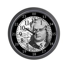 BACH AROUND THE CLOCK Wall Clock