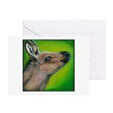"Donkey ""Snickers"" Greeting Cards (Pk of 10)"