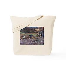 Beagle Art Tote Bag