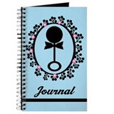 Blue Rattle Baby Journal Gift